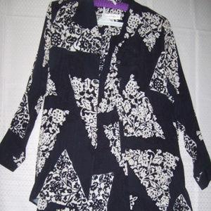 Norton Mc Naughton 2 Pc Top Skirt Size 14